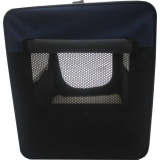 Hundetransportbox HBF-5026 blau S Transportbox faltbare Hundebox Reisebox