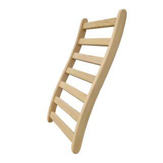 Rückenlehne S-Form ergonomisch Sauna /& Infrarotkabine Sauna-Rückenstütze Holz
