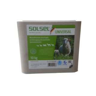Solsel 3x10kg Salt Lick Mineral Supplement Multi Animal Feed Cow Horse Cattle Goat