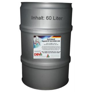 85W-140 Hypoid EP 60-Liter-Fass
