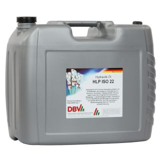 DBV hydraulic oil HLP ISO VG 22 20 liter canister