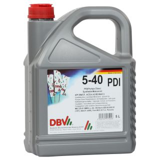 5W/40 synthetic for VW PDI (pump nozzle) 4 x 5 liter can