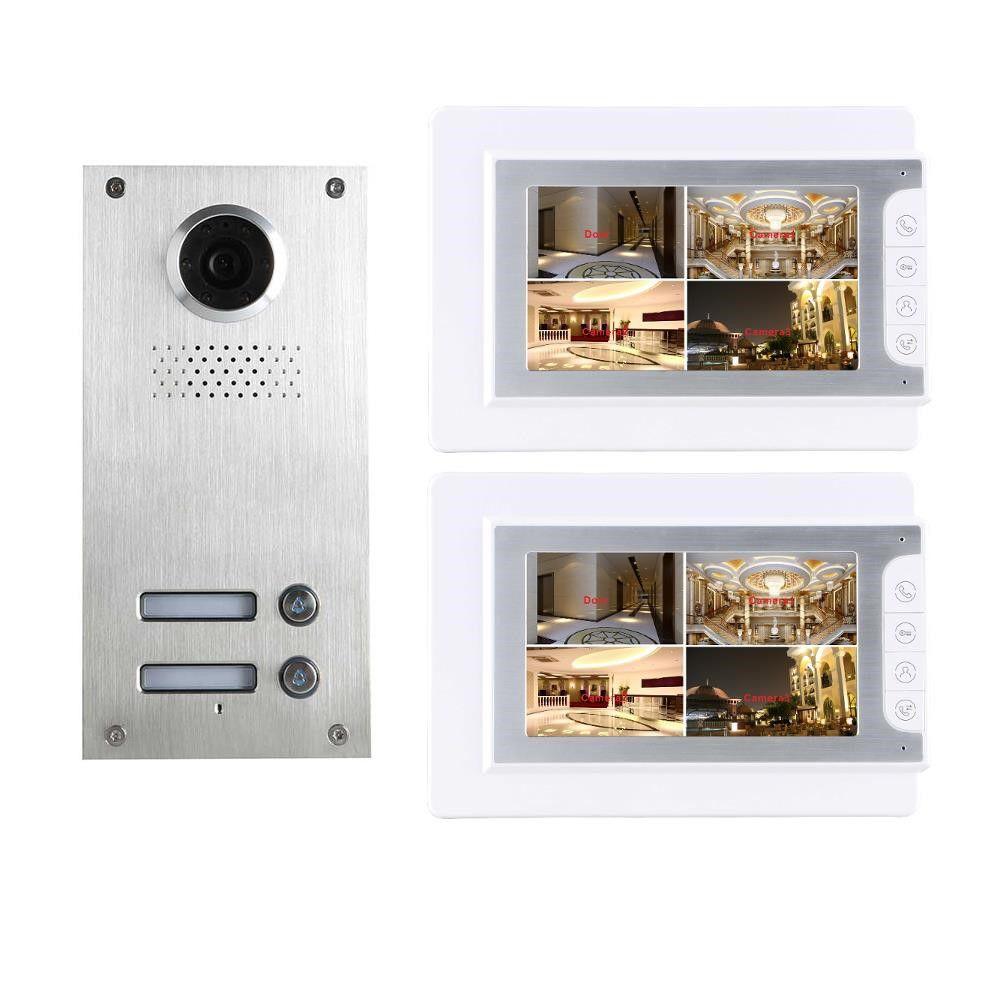 2 familienhaus video türsprechanlage gegensprechanlage klingelan