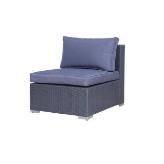 ... Poly Rattan Gartenmöbel Memphis Anthrazit Tisch Alu Garnitur Lounge  Garten Sitzgruppe Gartenset ...