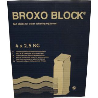Broxo Block 4x2,5 kg Water Softener Salt Tablets